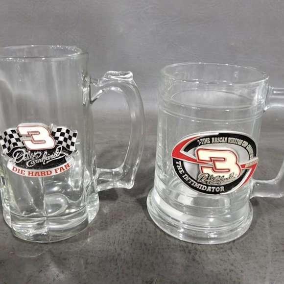 Pair of NASCAR Dale Earnhardt Sr. Embroidered Coll